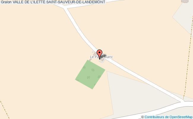 plan Valle De L'ilette Saint-sauveur-de-landemont