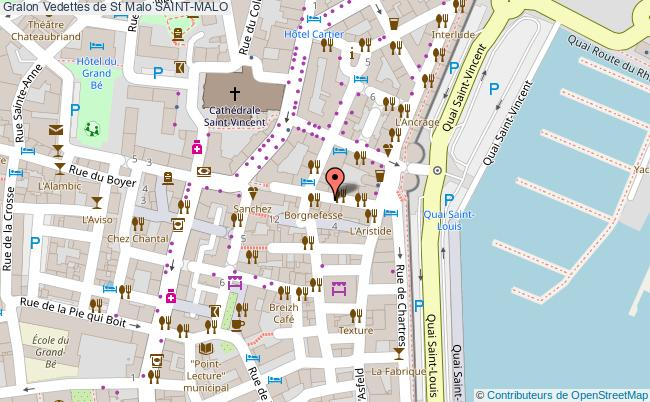 plan Vedettes De St Malo Saint-malo
