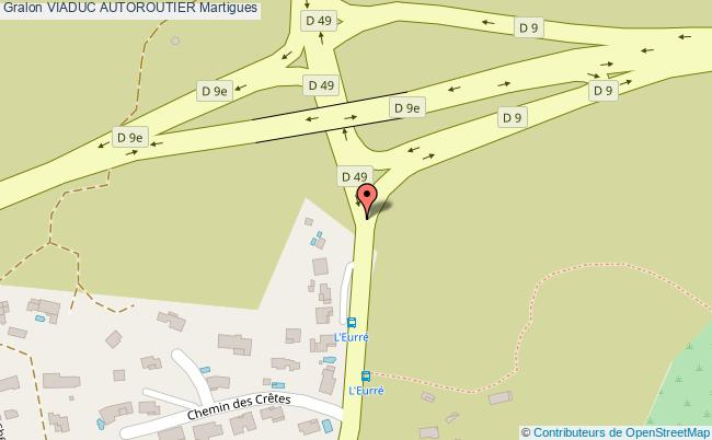 plan Viaduc Autoroutier Martigues
