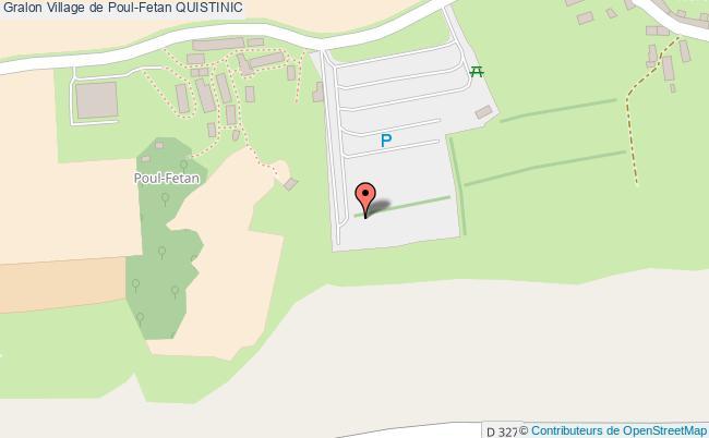 plan Village De Poul-fetan Quistinic