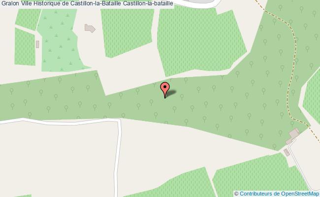 plan association Ville Historique De Castillon-la-bataille Castillon-la-bataille Castillon-la-bataille