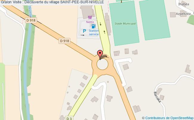 Visite d couverte du village saint pee sur nivelle - Office de tourisme saint pee sur nivelle ...
