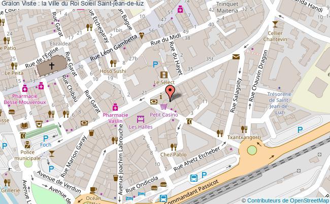 plan association Visite : La Ville Du Roi Soleil Saint-jean-de-luz Saint-jean-de-luz