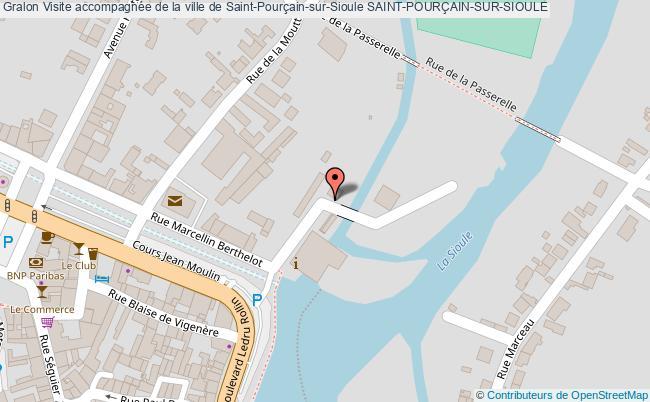 plan Visite Accompagnée De La Ville De Saint-pourçain-sur-sioule Saint-pourÇain-sur-sioule