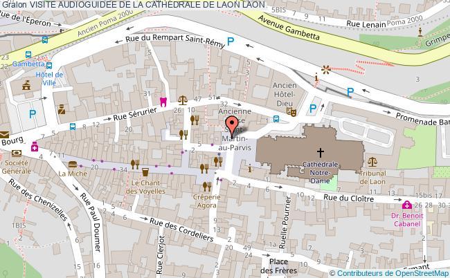 plan Visite Audioguidee De La Cathedrale De Laon Laon