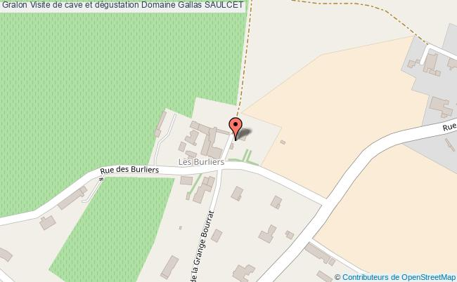 plan Visite De Cave Et Dégustation Domaine Gallas Saulcet