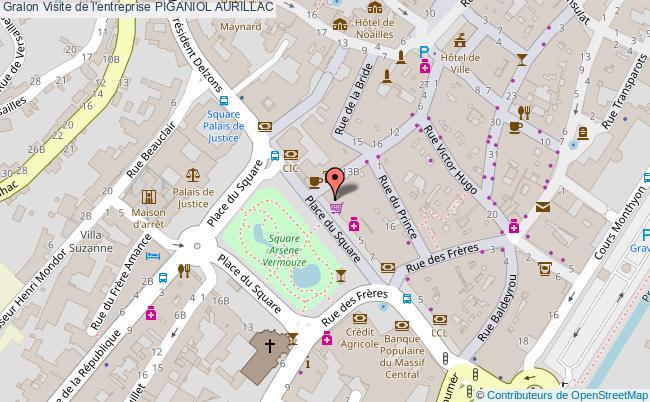 plan Visite De L'entreprise Piganiol Aurillac