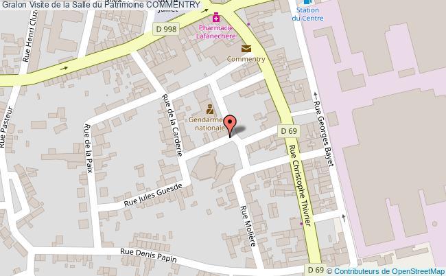 plan Visite De La Salle Du Patrimoine Commentry