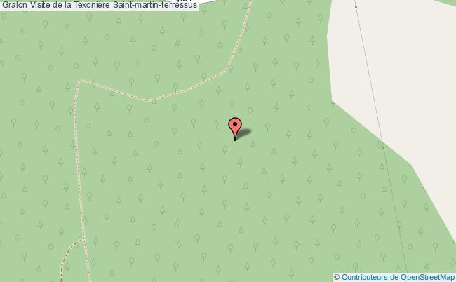 plan association Visite De La Texonière Saint-martin-terressus Saint-martin-terressus