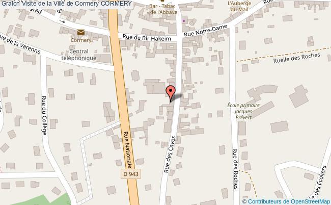 plan Visite De La Ville De Cormery Cormery
