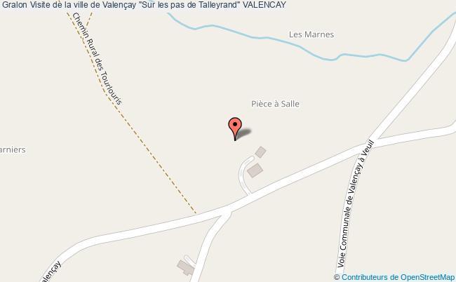 """plan Visite De La Ville De Valençay """"sur Les Pas De Talleyrand"""" Valencay"""