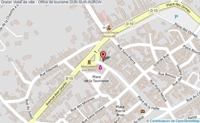 plan Visite De Ville - Office De Tourisme Dun-sur-auron