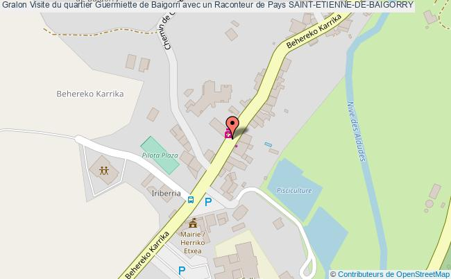 plan Visite Du Quartier Guermiette De Baigorri Avec Un Raconteur De Pays Saint-etienne-de-baigorry
