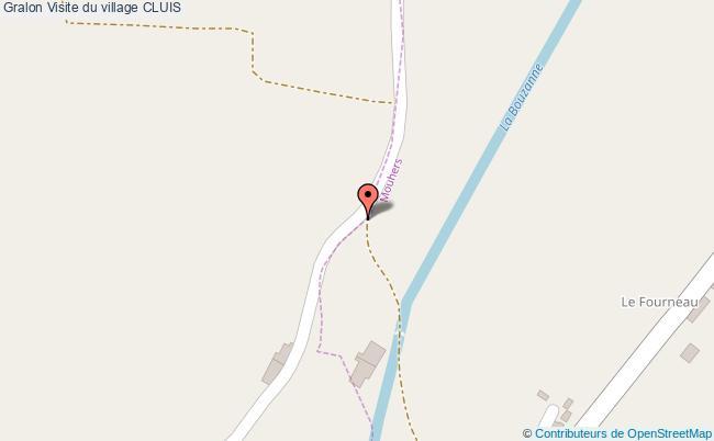 plan Visite Du Village Cluis
