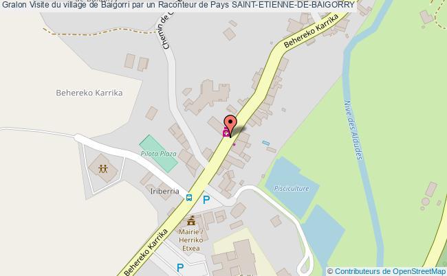 plan Visite Du Village De Baigorri Par Un Raconteur De Pays Saint-etienne-de-baigorry