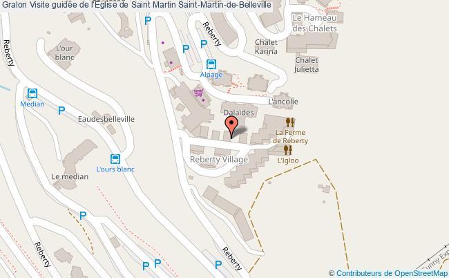 Visite guid e de l 39 eglise de saint martin saint martin de - Office de tourisme saint martin de belleville ...