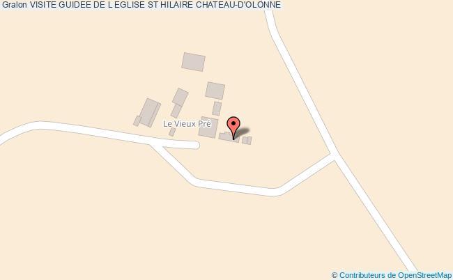 plan Visite Guidee De L Eglise St Hilaire Chateau-d'olonne