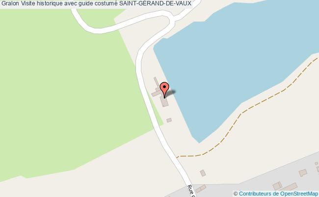 plan Visite Historique Avec Guide Costumé Saint-gÉrand-de-vaux