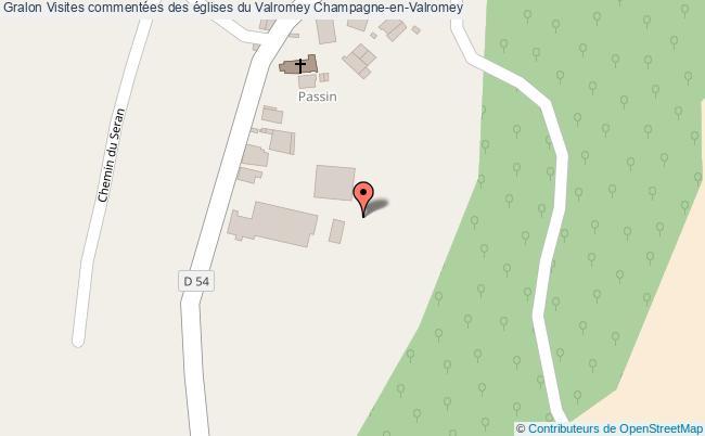 plan Visites Commentées Des églises Du Valromey Champagne-en-valromey