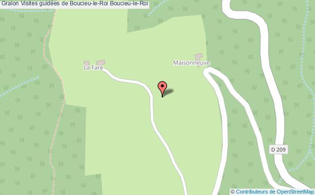 plan Visites Guidées De Boucieu-le-roi Boucieu-le-roi