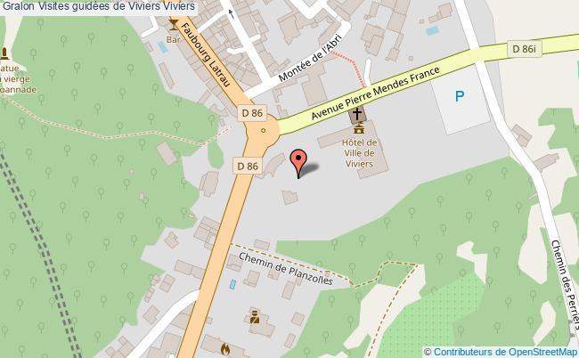 plan Visites Guidées De Viviers Viviers