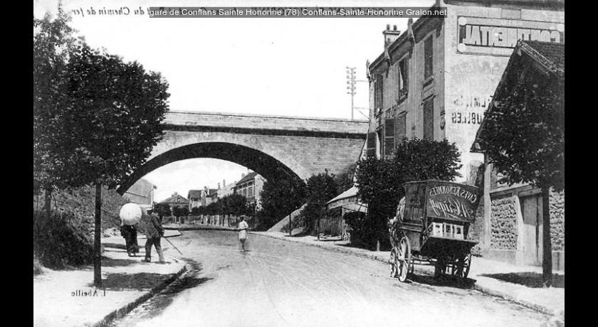 Gare De Conflans Sainte Honorine  78  Conflans