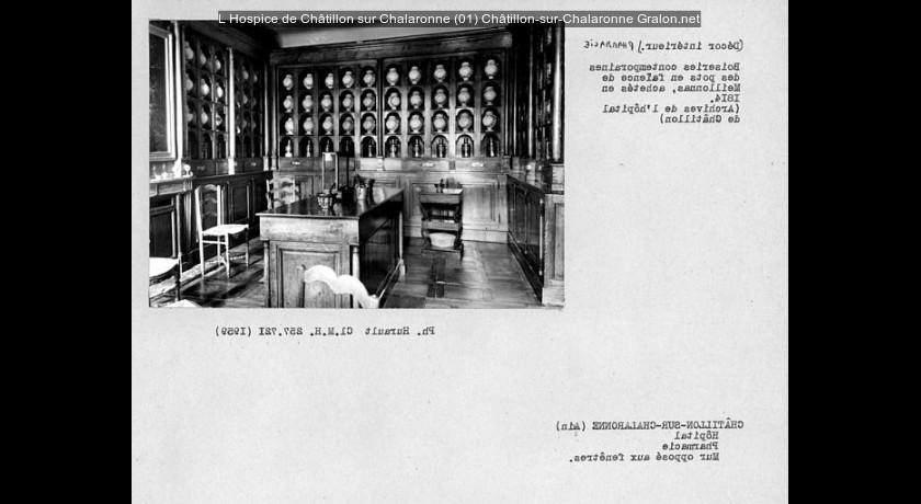 L 39 hospice de ch tillon sur chalaronne 01 ch tillon sur - Office de tourisme chatillon sur chalaronne ...