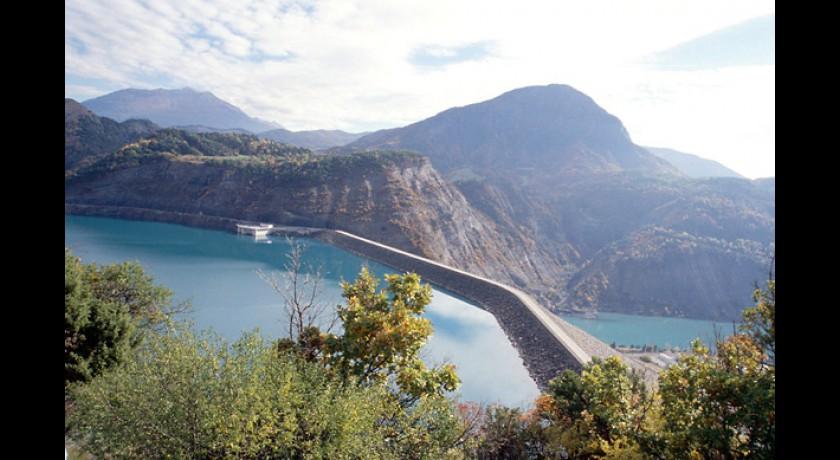 Le barrage du lac de serre pon on la br ole la br ole tourisme - Savines le lac office de tourisme ...