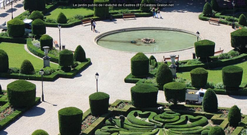 Le jardin public de l 39 v ch de castres 81 castres tourisme for Jardin public