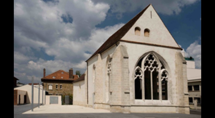 les �glises centre d'art contemporain