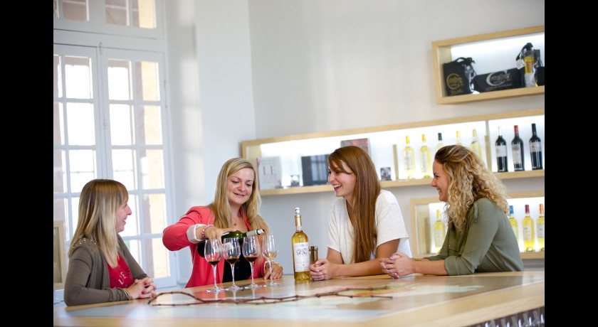 Maison des vins de cadillac cadillac tourisme maison des for Maison cadillac