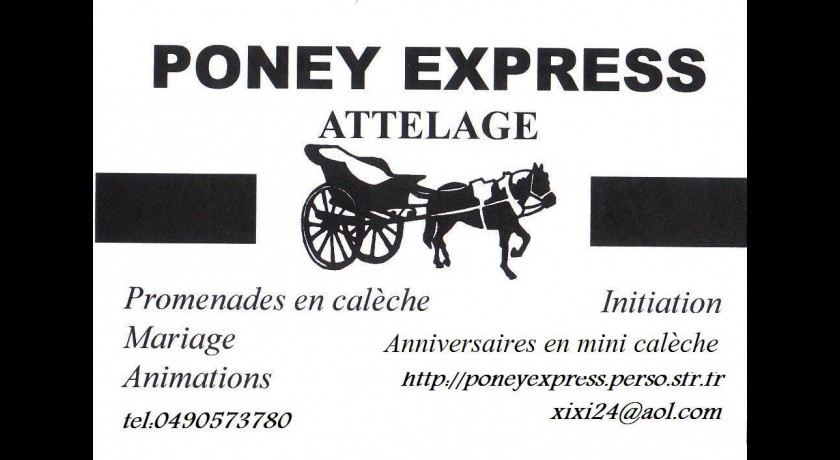 Poney Express  Vernègues