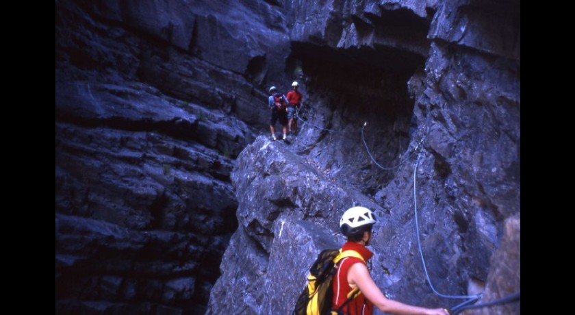 Via Ferrata Du Sautet  Corps