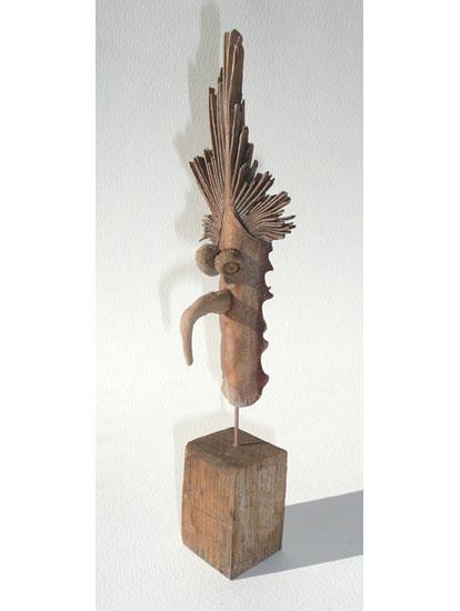 D couvrez les nouvelles sculptures en bois flott de for Les bois flottes de sophie