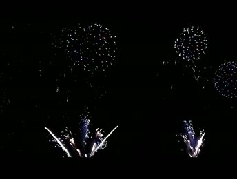 video Feux d'artifice du Carnaval de Nice